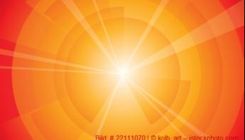 strahlende Sonne