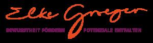 Logo Elke Groeger, Bewusstheit fördern, Potenziale entfalten